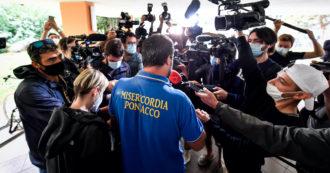 """Salvini vota con la maglia delle Misericordie Pisane, presidente: """"Noi facciamo volontariato, no a propaganda e strumentalizzazioni"""""""