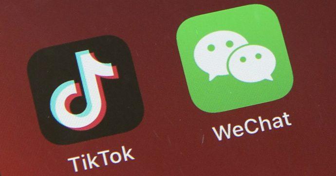 """TikTok, ora si muove Pechino: accordo con Usa è """"sporco e ingiusto"""". WeChat: + 517% di download dopo bando Trump"""