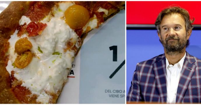 """Carlo Cracco ai clienti del suo ristorante in Galleria a Milano: """"Vi do solo mezza pizza"""". Ecco le reazioni"""