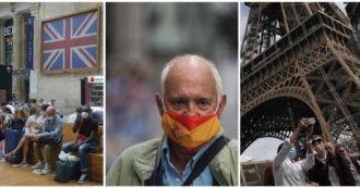 Covid, record di casi in Francia: 16mila in un giorno. 6mila nel Regno Unito. La Spagna supera i 700mila positivi: primi in Europa