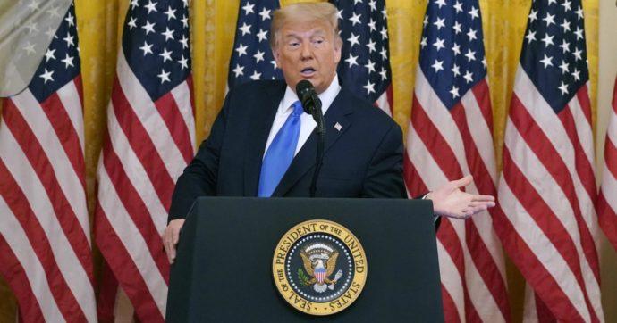 """Trump: """"Transizione pacifica se perdo? Vedremo. Il voto finirà davanti alla Corte Suprema"""""""