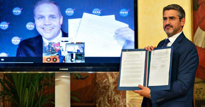 Spazio, firmato accordo tra Italia e Usa per la missione che riporterà l'uomo sulla Luna