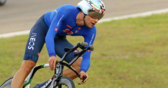Filippo Ganna è campione del mondo di ciclismo a cronometro: l'impresa a Imola