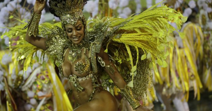 Coronavirus, annullato il Carnevale di Rio de Janeiro: doveva essere a febbraio 2021, è stato rinviato a data da destinarsi