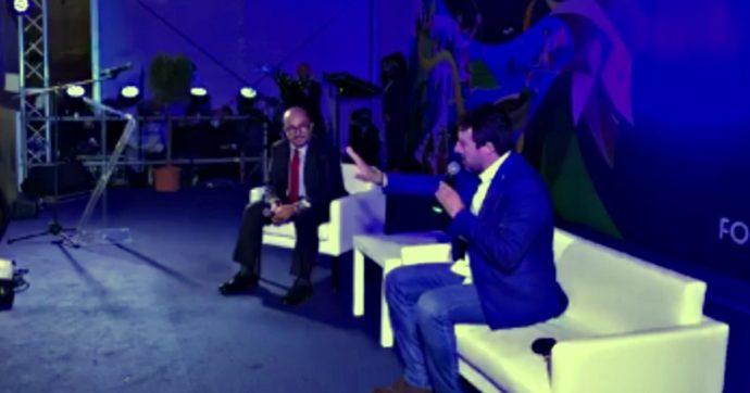 """Salvini: """"Mai avuta la febbre"""". Ma ieri a un incontro pubblico si dichiarava febbricitante (il video)"""