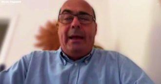 """Zingaretti: """"Nuovo lockdown? Non escludo nulla, se non rispettiamo le regole finiamo lì"""""""