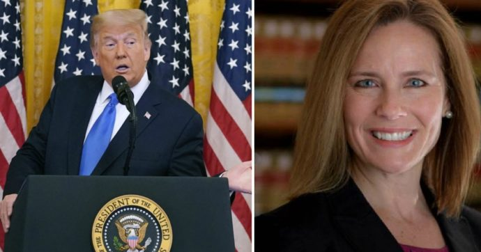 Usa, Trump nomina l'anti-abortista Coney Barrett alla Corte Suprema: la corsa contro il tempo e le strategie per il via libera del Senato