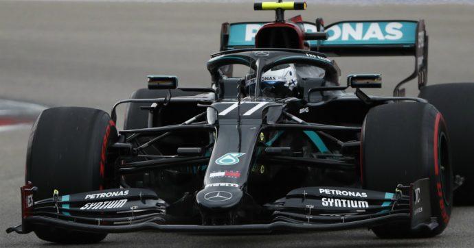 F1, qualifiche Gp dell'Eifel: Bottas in pole, Leclerc quarto. Vettel eliminato nel Q2