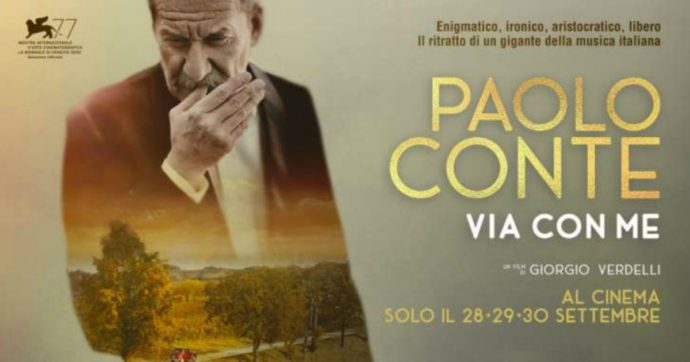 'Paolo Conte, Via con Me', dopo averlo visto vorresti abbracciare il maestro e ringraziarlo. Andate al cinema!