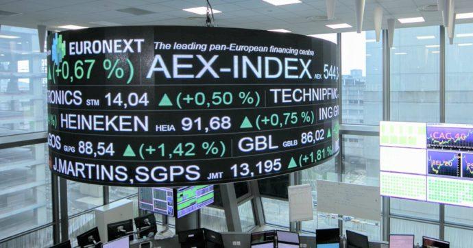 Borse europee, migliore seduta da giugno. Volano le banche, Milano chiude a + 2,5%. Giù Atlantia