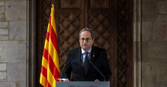 Catalogna, il governatore Quim Torra condannato: dovrà dimettersi. Si apre una nuova crisi istituzionale a Barcellona
