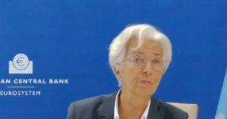 """Bce, rinviata a dicembre la decisione su nuovi interventi anti crisi. Lagarde: """"Con impennata dei contagi indebolimento dell'economia"""""""