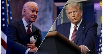 """""""Come guardare un cassonetto in fiamme"""", """"una vergogna nazionale"""": le reazioni della stampa Usa al duello tv tra Biden e Trump"""