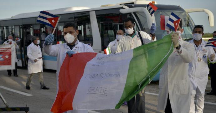 I medici cubani che aiutarono l'Italia durante il coronavirus sono stati candidati per il Nobel per la Pace