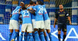 """Coronavirus, Napoli: """"Tamponi tutti negativi dopo il match contro il Genoa"""". Giovedì nuovi controlli sul gruppo-squadra"""