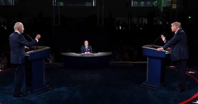 Trump-Biden, il primo dibattito tv è un disastro. Urla, insulti e interruzioni continue: così il faccia a faccia è stato oscurato dal caos