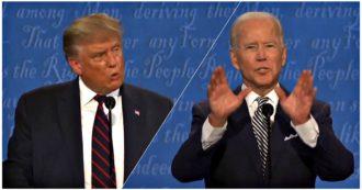 Elezioni Usa, ok di Biden e Trump sul rinvio del dibattito al 22 ottobre. Grandi elettori: candidato dem in forte vantaggio