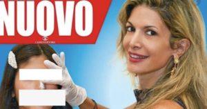 Maria Monsé porta la figlia 14enne dal chirurgo plastico. E la copertina di Nuovo lo racconta (spoiler: no fiction, è tutto vero)