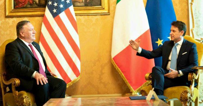 """Pompeo vede Conte e Di Maio sul 5G: """"Cina ha scopi strategici in Italia"""". Ministro: """"Sicurezza è nostra priorità"""". Tensioni Usa-Vaticano"""