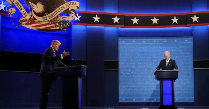 """Usa 2020, Cnn: """"Biden ha vinto il duello tv col 60% del gradimento"""". Ma per Fox è Trump che ha trionfato"""