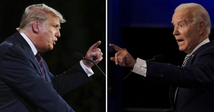 """Trump-Biden, """"nei dibattiti microfono chiuso se interrompono"""". Repubblicani contro il tycoon sui suprematisti"""