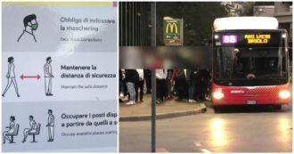 Nei bus scolastici ammassati: in attesa di una soluzione è scaricabarile tra ministeri, regioni e presidi. I video da Bergamo, Roma e Napoli