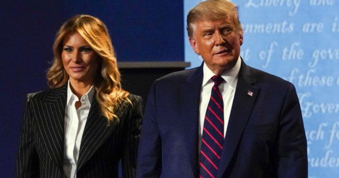"""Covid, Donald Trump e Melania positivi. New York Times: """"Il presidente ha sintomi lievi"""". Cancellata tappa elettorale in Florida"""