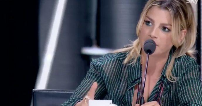 """X Factor 2020, la finale. Emma Marrone: """"Contro Blue Phelix frasi omofobe vomitevoli"""""""