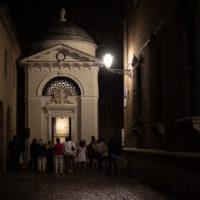 Ravenna, tomba di Dante aperta in occasione dell'inizio delle Celebrazioni Dantesche per i 700 anni dalla morte (1321-2021).