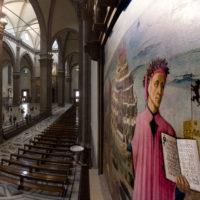 Firenze, Cattedrale di Santa Maria del Fiore. La Divina Commedia di Dante, Domenico di Michelino (1465)