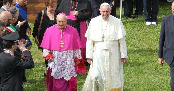 Monsignor D'Alise, il mite pastore di Caserta che accolse il Papa due volte in tre giorni
