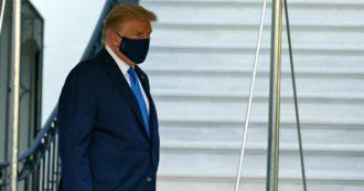 """I medici di Trump: """"Ha avuto febbre e cali di ossigeno, ma potrebbe essere dimesso lunedì"""". Il video dall'ospedale: """"Tornerò presto"""""""