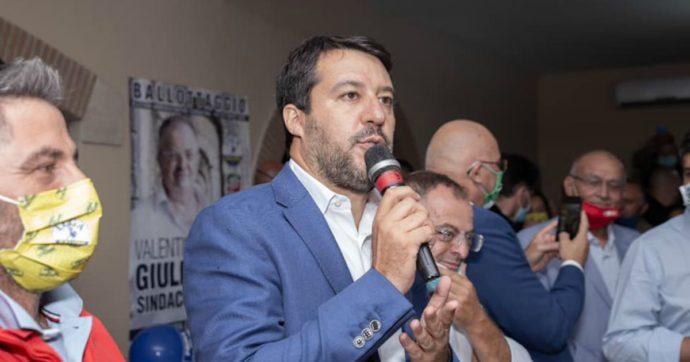 """In calo nei sondaggi Salvini torna a chiedere il condono: """"Edilizio, fiscale, tombale"""". È la quarta volta dall'inizio della pandemia"""