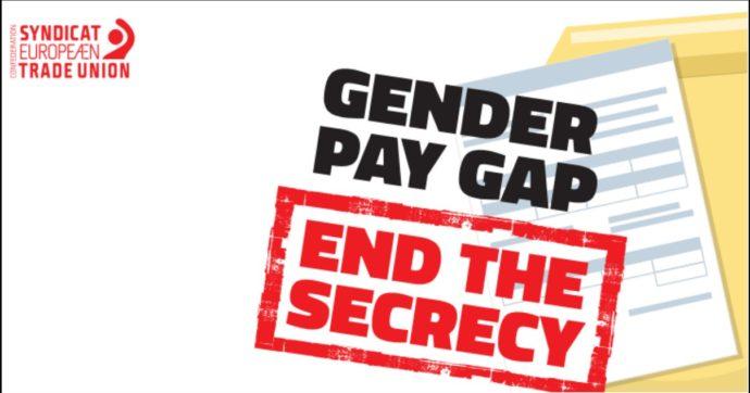 """Salari più bassi per le donne, i sindacati Ue: """"Senza interventi lo svantaggio rispetto agli uomini sarà eliminato solo nel 2104"""""""