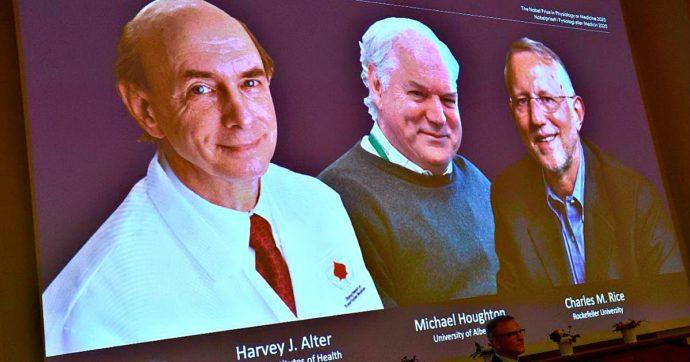 """Nobel per la Medicina ai virologi Alter, Houghton e Rice per la scoperta del virus dell'epatite C. """"Salvate milioni di vite"""""""