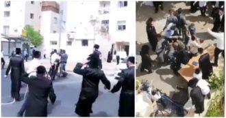 Gerusalemme, ebrei ortodossi rifiutano le imposizioni del lockdown: scontri con la polizia