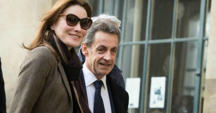 """Carla Bruni: """"Nicolas Sarkozy è un uomo fragile, per questo l'ho sposato. È pieno di energia, ma c'è qualcosa di strano"""""""