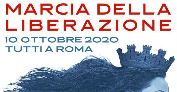 """Il 10 ottobre la """"Marcia della liberazione"""" a Roma: """"Governo fa uso terroristico del Covid"""". Da Montesano alla Cunial, ecco chi ci sarà"""