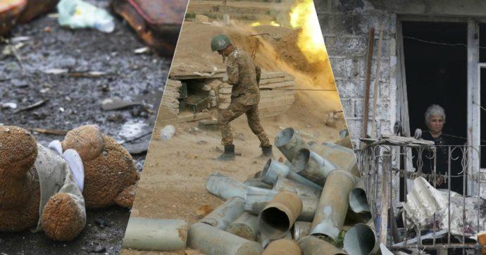 """""""In Nagorno-Karabakh razzi di continuo nella notte, ho paura di ripiombare nel trauma. Proteggeteci dalla Turchia"""""""