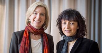 """Nobel per chimica a Emmanuelle Charpentier e Jennifer Doudna: hanno scoperto la tecnica del """"taglia-incolla"""" del Dna"""