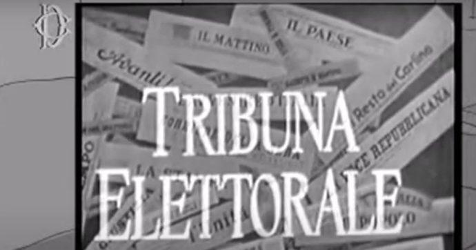 Tribuna elettorale, sessant'anni fa la politica entrava nelle case. Con due grandi differenze rispetto a oggi