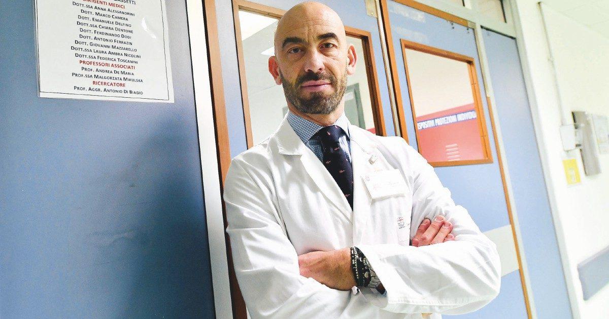Matteo Bassetti, il Lady Gaga del Covid più virale del virus