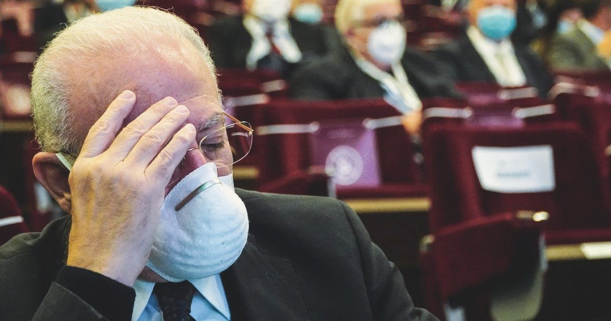 """La voragine Campania: """"Isolamento impossibile"""""""
