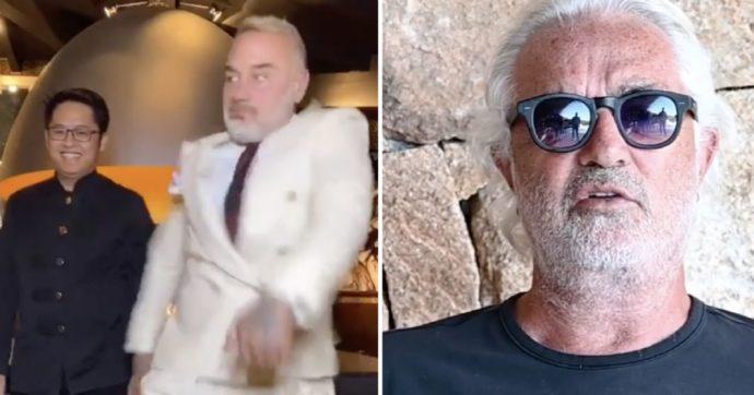"""Flavio Briatore e il """"commento pessimo e cafone"""" al video di Gianluca Vacchi"""