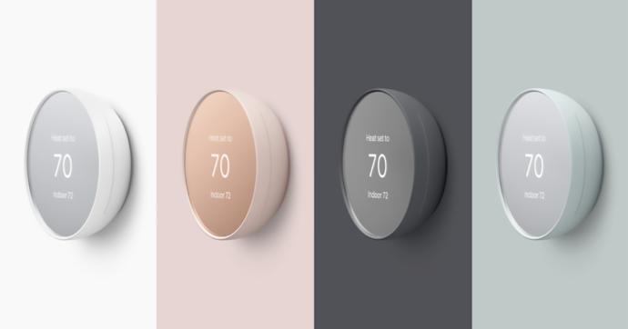 Google presenta Nest, termostato economico con controllo touch