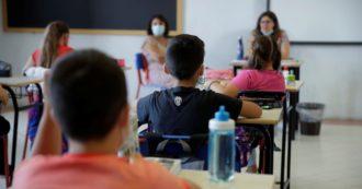 """Contagi a scuola: tra gli studenti i positivi sono lo 0,08%, tra i prof lo 0,13. L'Iss: """"Trasmissione virus limitata, ma monitorare anche fuori"""""""