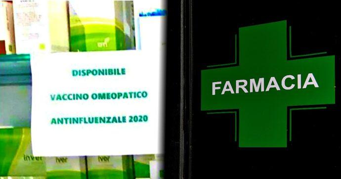 """""""Disponibile vaccino influenzale omeopatico"""". Il cartello-truffa esposto in diverse farmacie. Burioni: """"Grave"""". L'ordine: """"Segnaliamo i casi"""""""