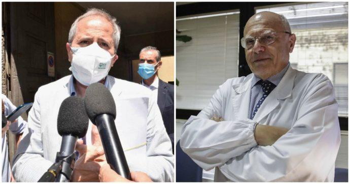 """Coronavirus, Crisanti: """"Ottimista quando ho detto lockdown a Natale"""". E Galli: """"Tagliare il superfluo, a Milano serve una stretta in più"""""""