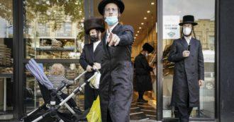 New York, ebrei ultraortodossi organizzano nozze in segreto col passaparola: 7mila invitati stipati in sinagoga