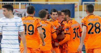 Dinamo Kiev-Juventus 0-2: buona la prima di Pirlo in Champions con la doppietta di Morata